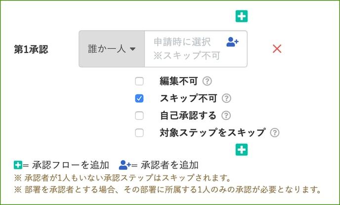 【申請フロー設定】1:申請フローを作成しよう_承認者